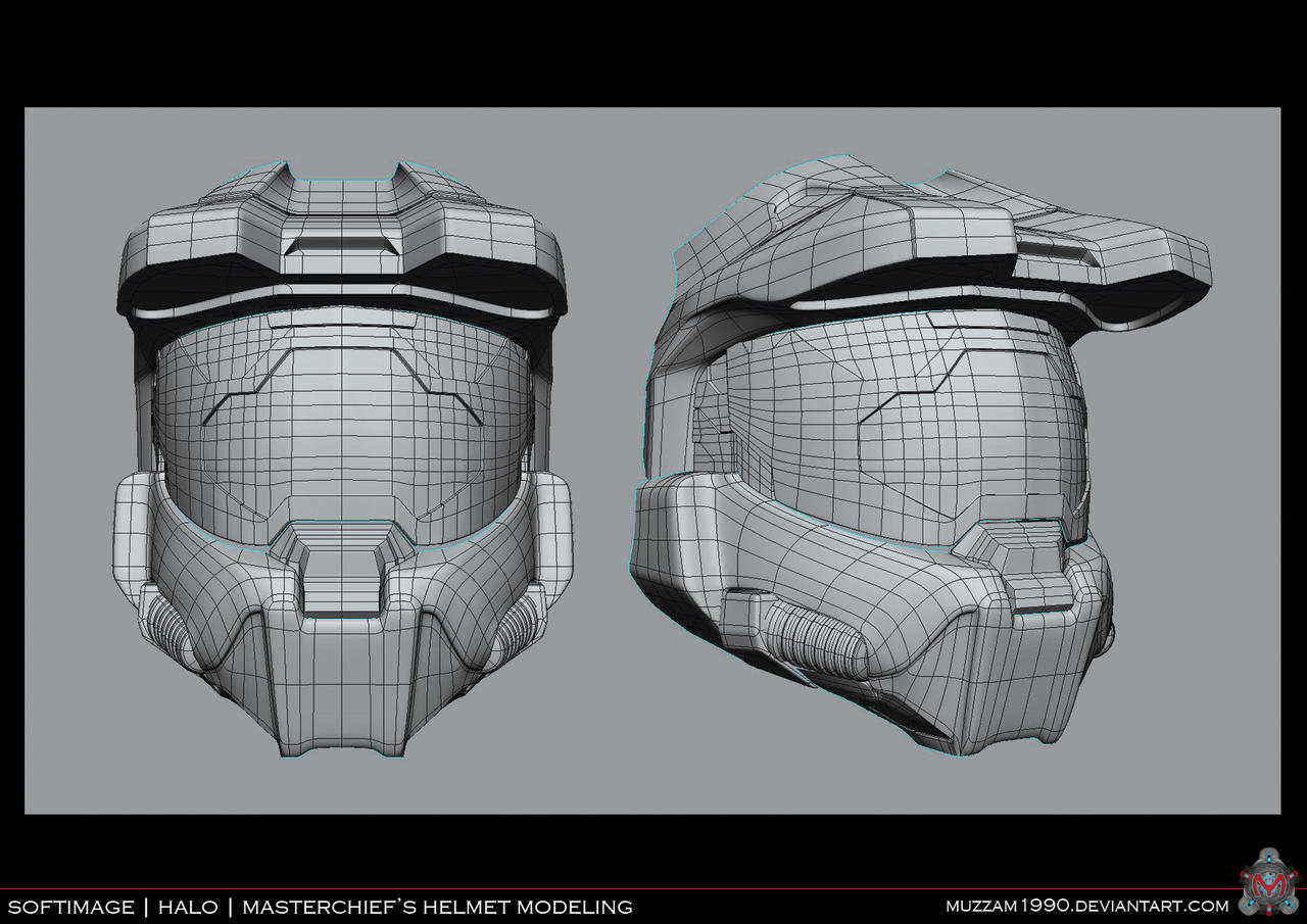 Halo Helmet 3d Print File : Ash Cycles