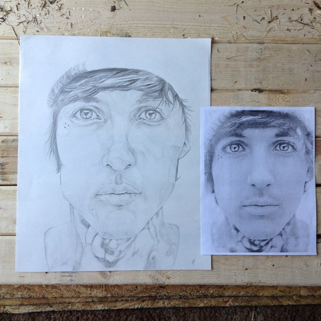 Upside down Oli WIP by Audrey-Taft