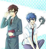 AnE: Okumura Brothers by SaraSama90