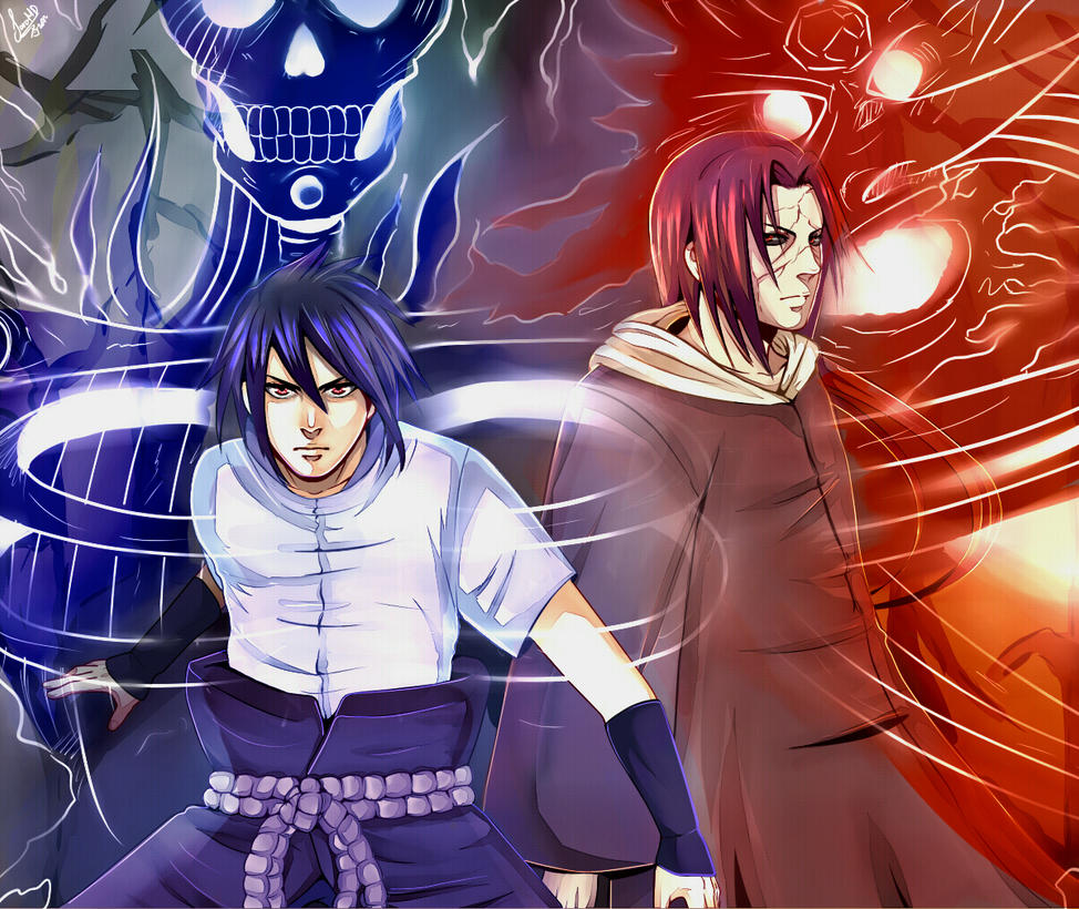 The Uchiha Brothers by SaraSama90