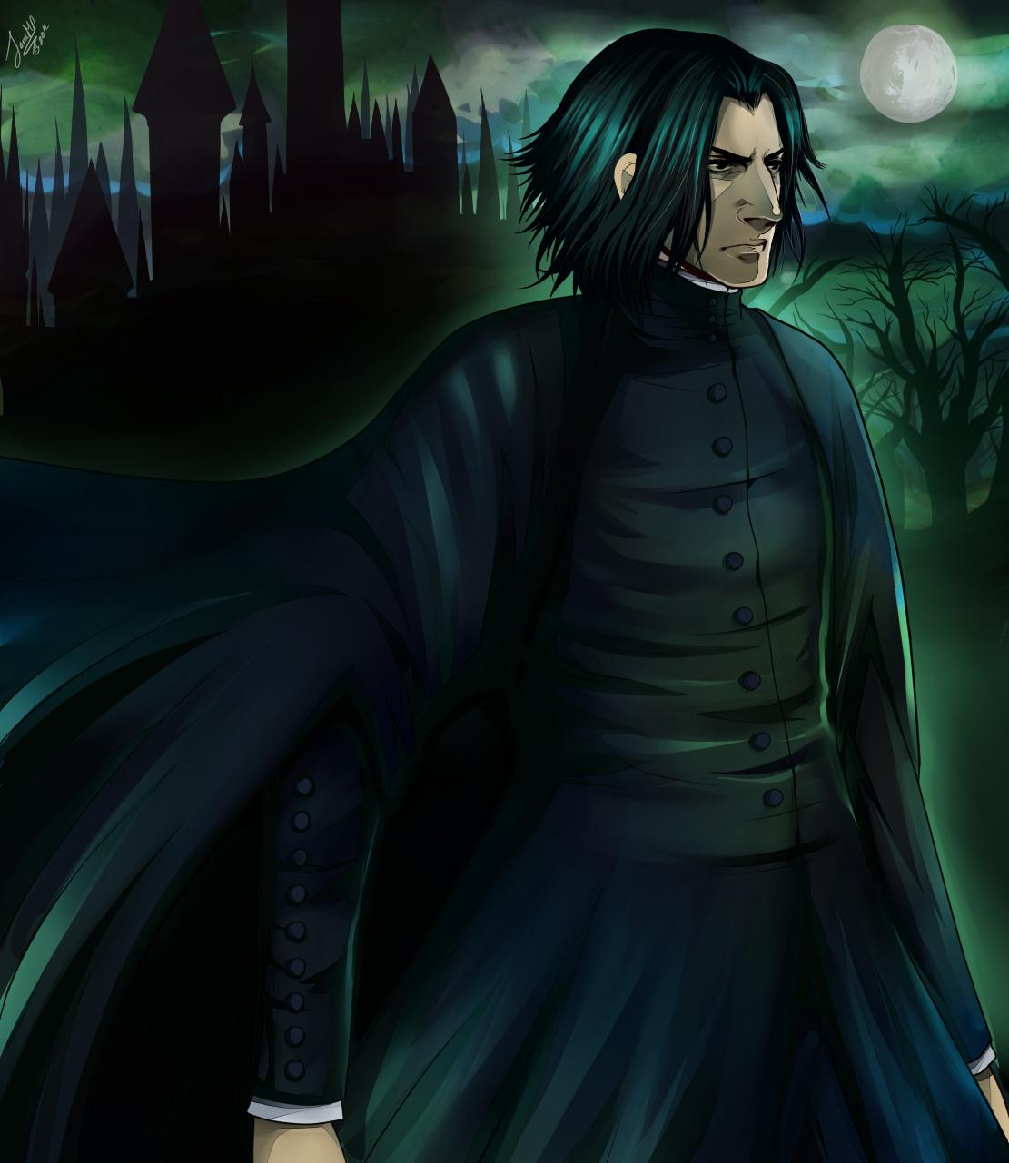 HP: Severus Snape by SaraSama90