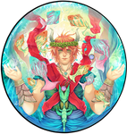 ODIS: Aqua Prince by SaraSama90