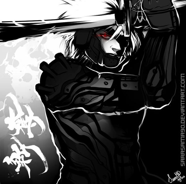MGR: Raiden by SaraSama90