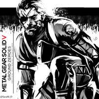 Metal Gear V: Ground Zeroes by SaraSama90