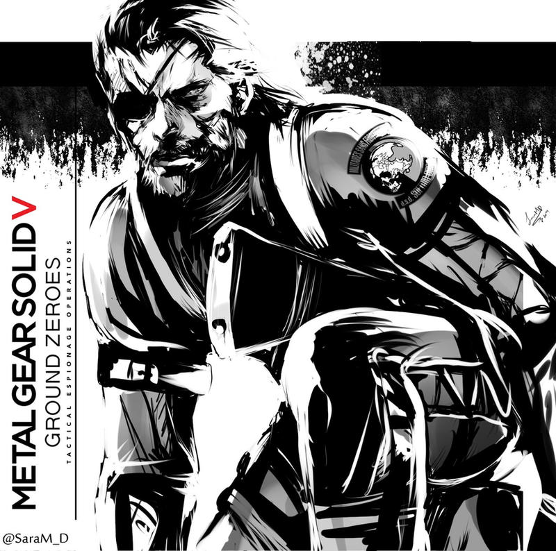 Metal Gear V: Ground Zeroes by SaraSama90