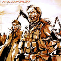MGSV: Diamond Dogs by SaraSama90