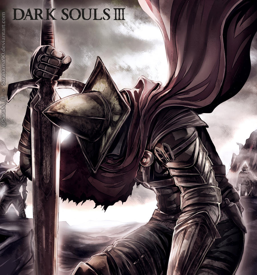 Dark souls 3 the abyss watchers by sarasama90 on deviantart - Watchers dark souls 3 ...