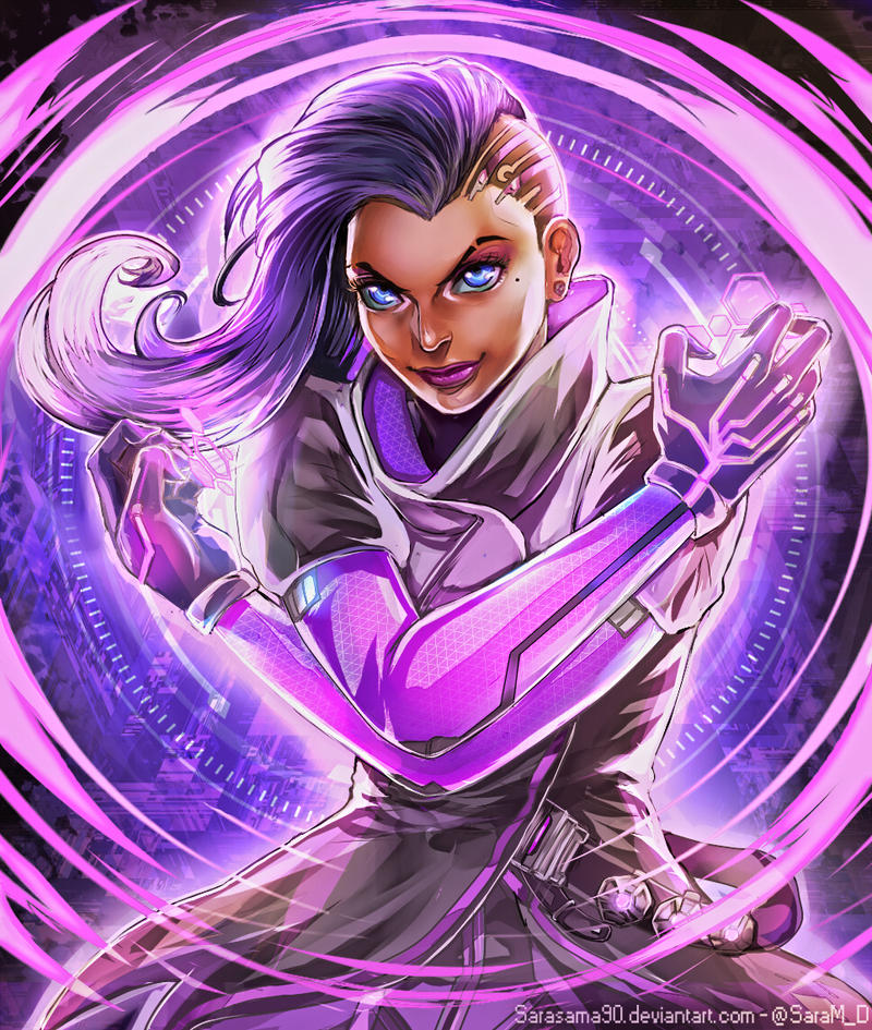 Overwatch: Sombra by SaraSama90