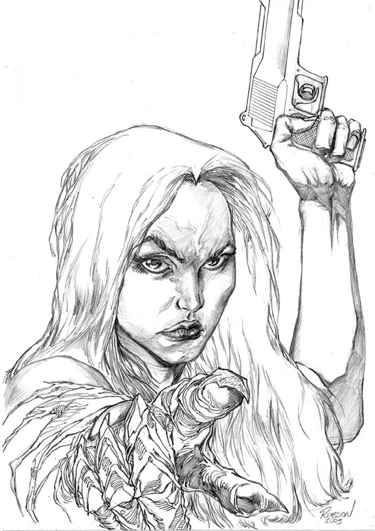 Witchblade by robsonrocha