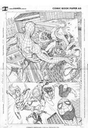Avengers page sample by robsonrocha