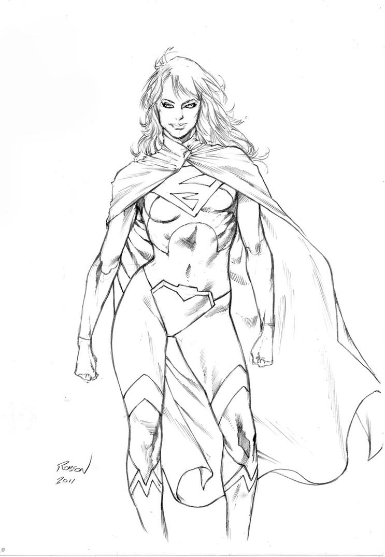 Supergirl by robsonrocha