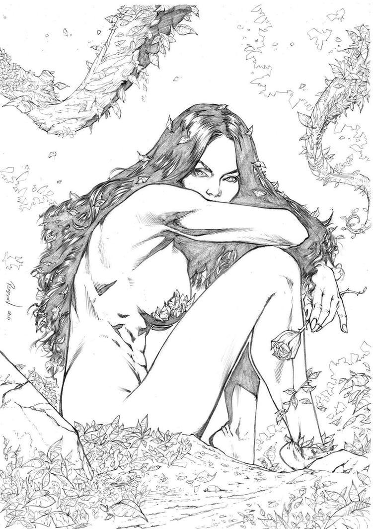 Poison Ivy by robsonrocha