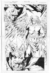Demon Knights 9 page 20 by robsonrocha