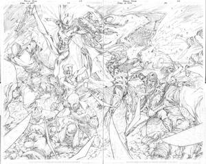 Birds of Prey 34 pages 08 and 09