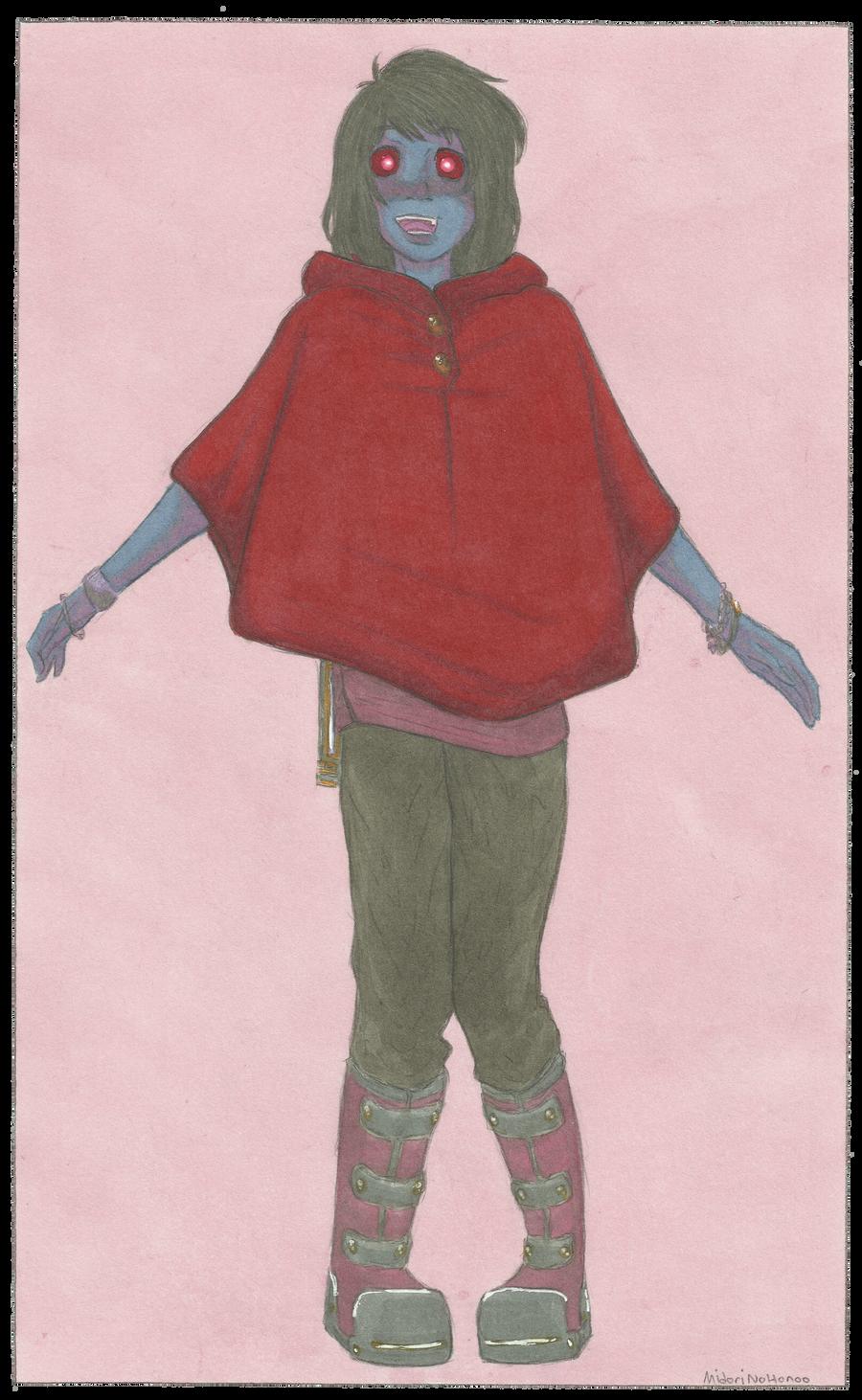 Little red cloak. by MidoriNoHonoo