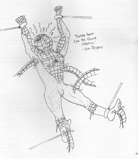 Tickle Spiderman