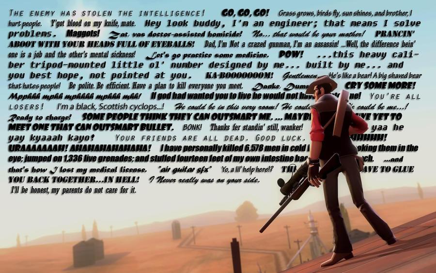 Tf2 Quotes Wallpaper By Clockwork000 On Deviantart