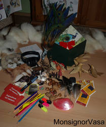 Taxidermy secret santa from MonsignorVasa by Braveheart-Taxidermy