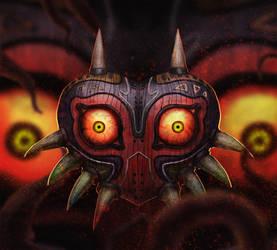 Majora's Mask (Legend of Zelda: Majora's Mask) by Feedington
