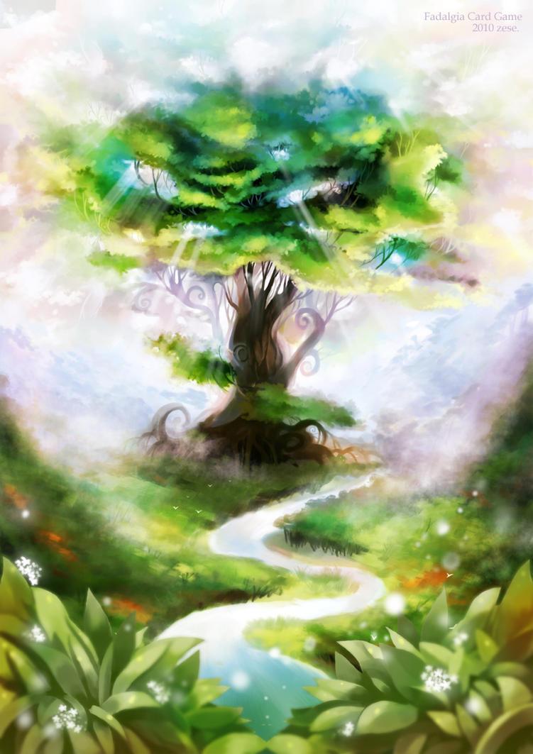 Yggdrasil Art Yggdrasil by zese on D...