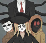 [Creepypasta] Slender And His Proxies by PhantomTheProxy