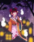 Koshi-musume by young-lyndis