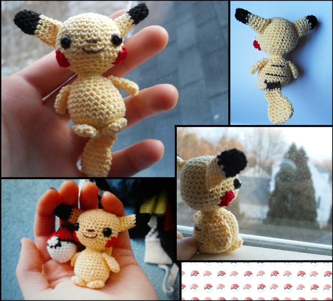 Pikachu by TheSmall-Stuff