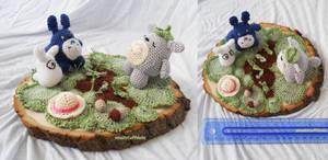 Amigurumi Scene: Totoro