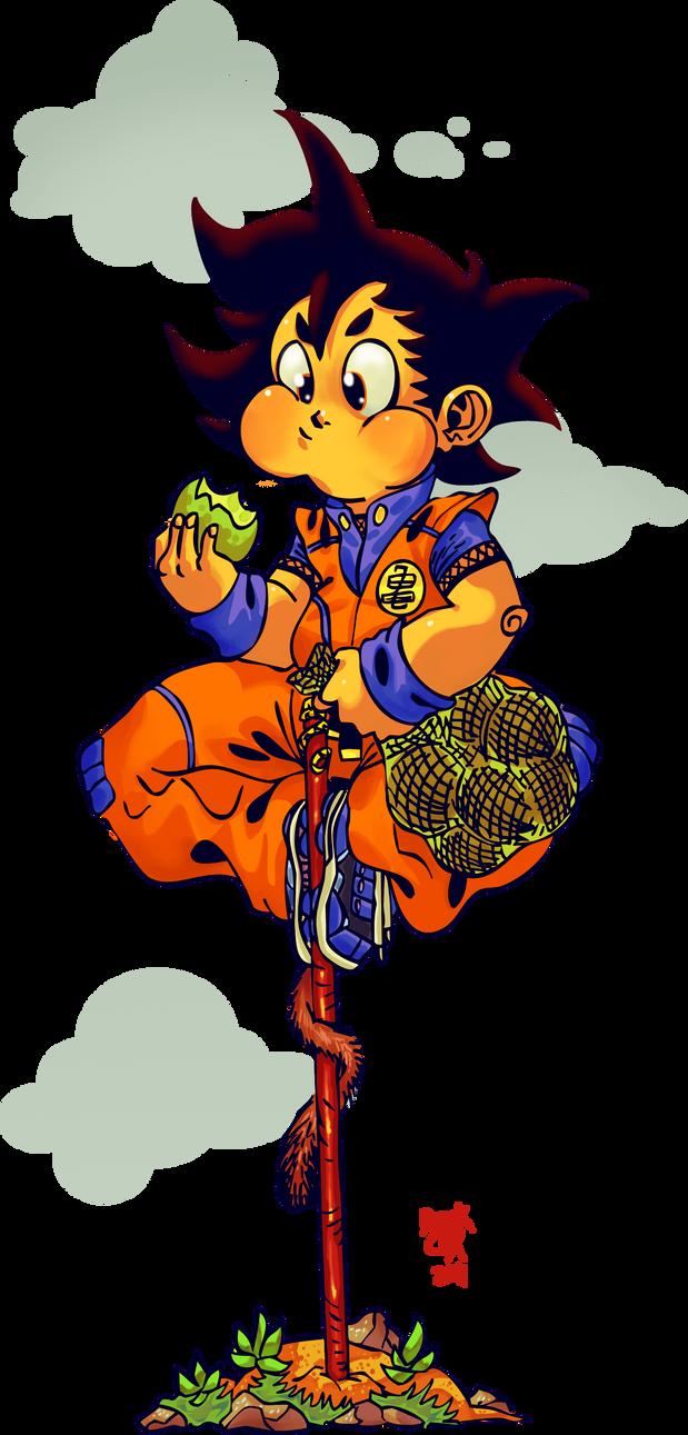 Goku by CRUSHEILY