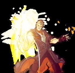 GENE-god hand-CAPCOM by CRUSHEILY