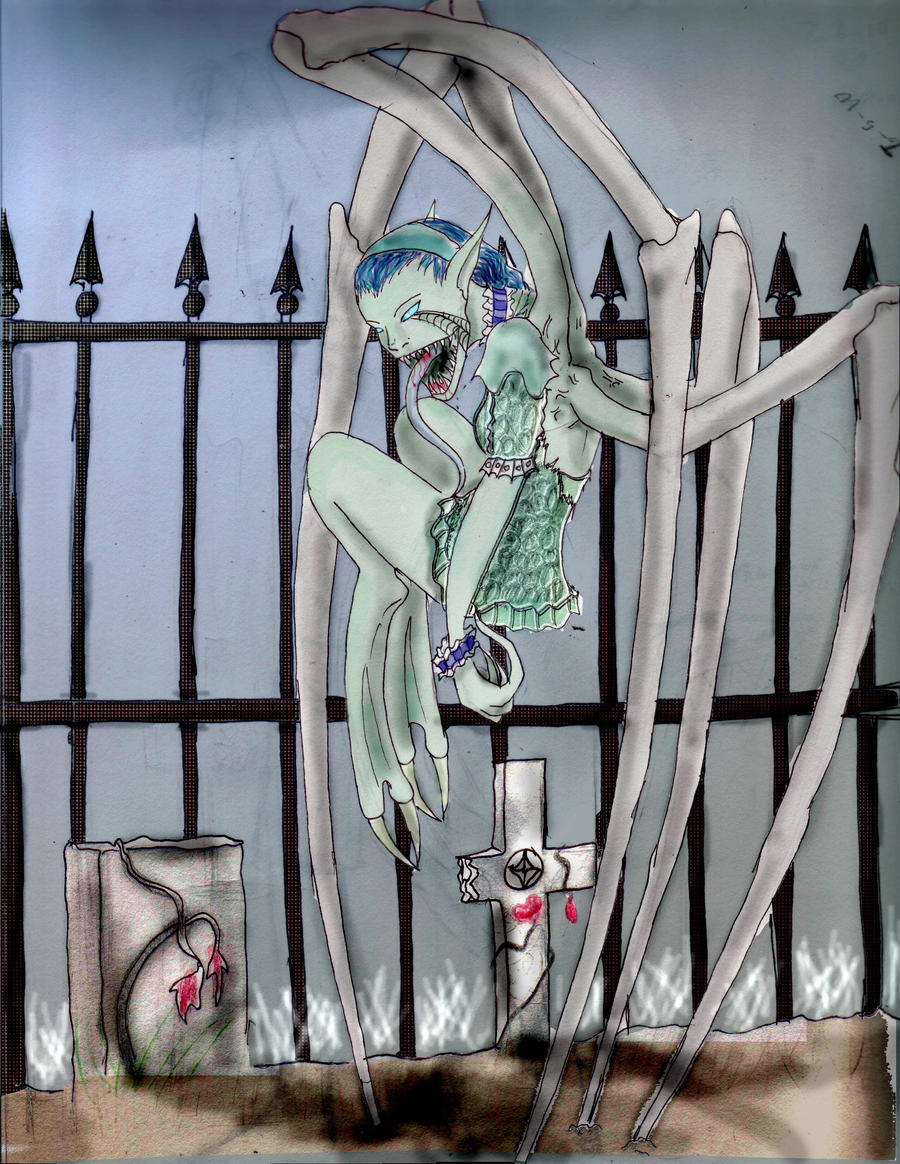 Fivery gravefiller by im-Rem