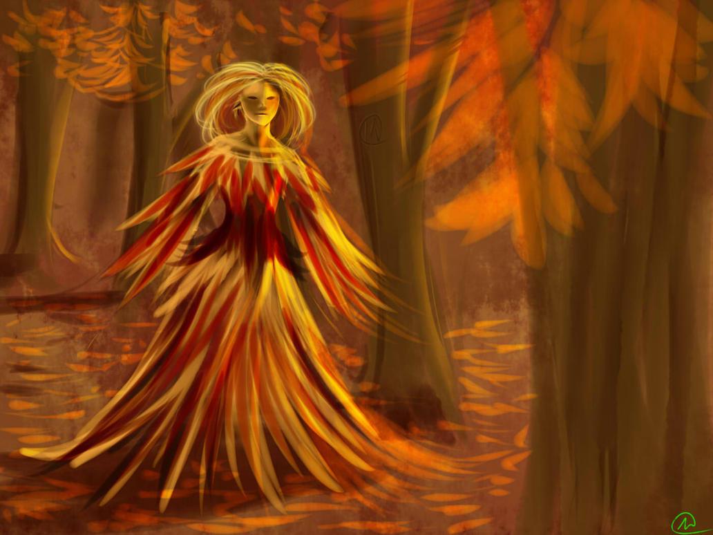Autumn spirit by im-Rem
