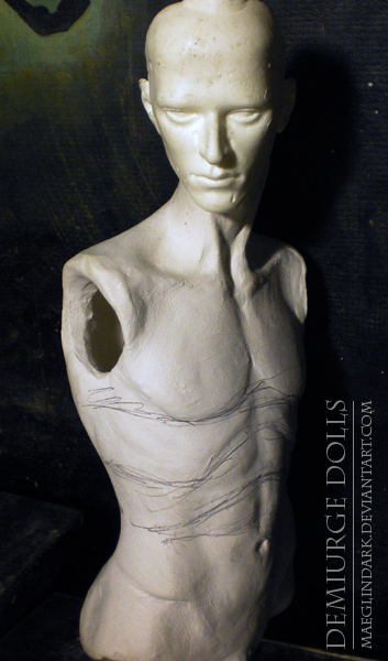Body WIP by Maeglindark