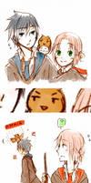 SasuSaku goes to Hogwarts~