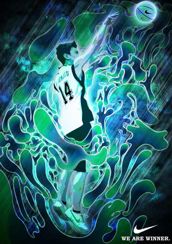 Nike Basketball Ad (Water) by david-jun on DeviantArt