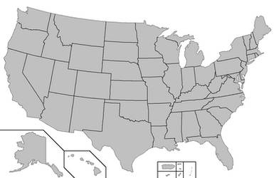 United States base map