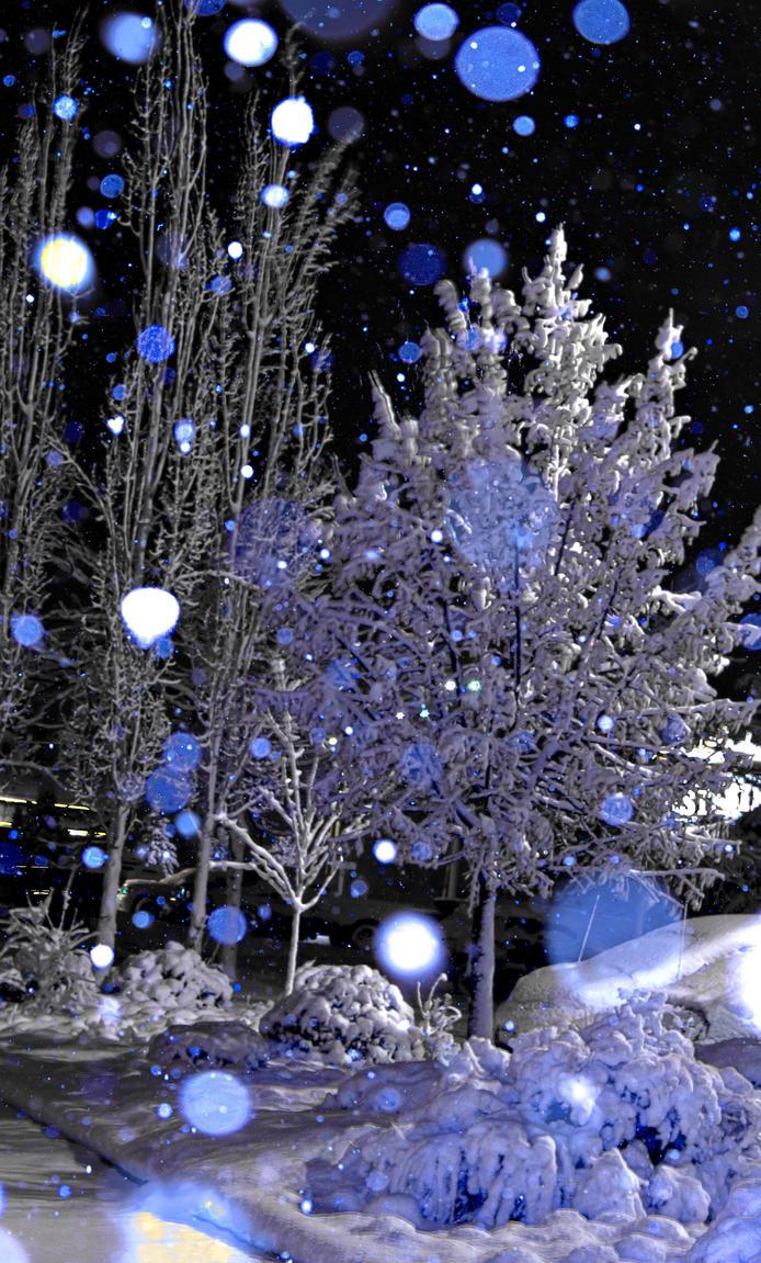 snowy panorama by Irkyme