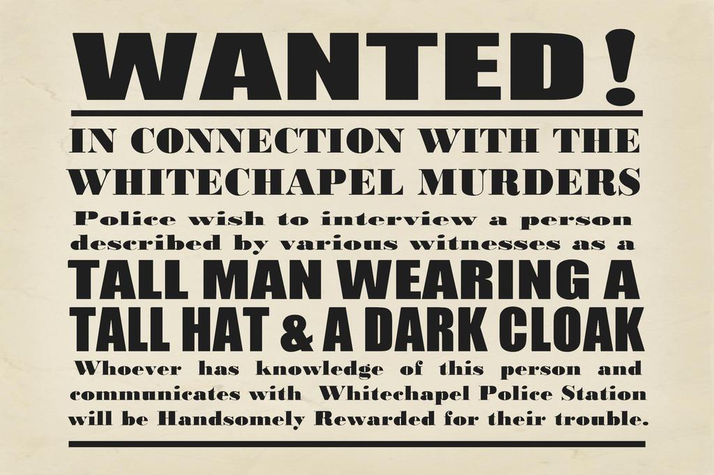 Original jack the ripper newspaper articles