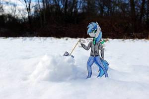 Gonna build the best snowman :D by Bumskuchen