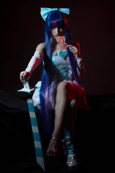 Panty and Stocking with Garterbelt - Stocking II by Vicky-pxp