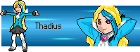 Poke Village gift : Thadius sprites banner by FuranSuwa