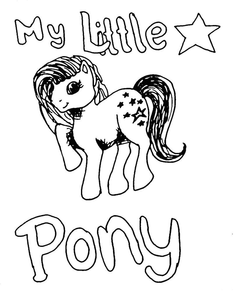 My little pony da colorare - Disegni da colorare - IMAGIXS
