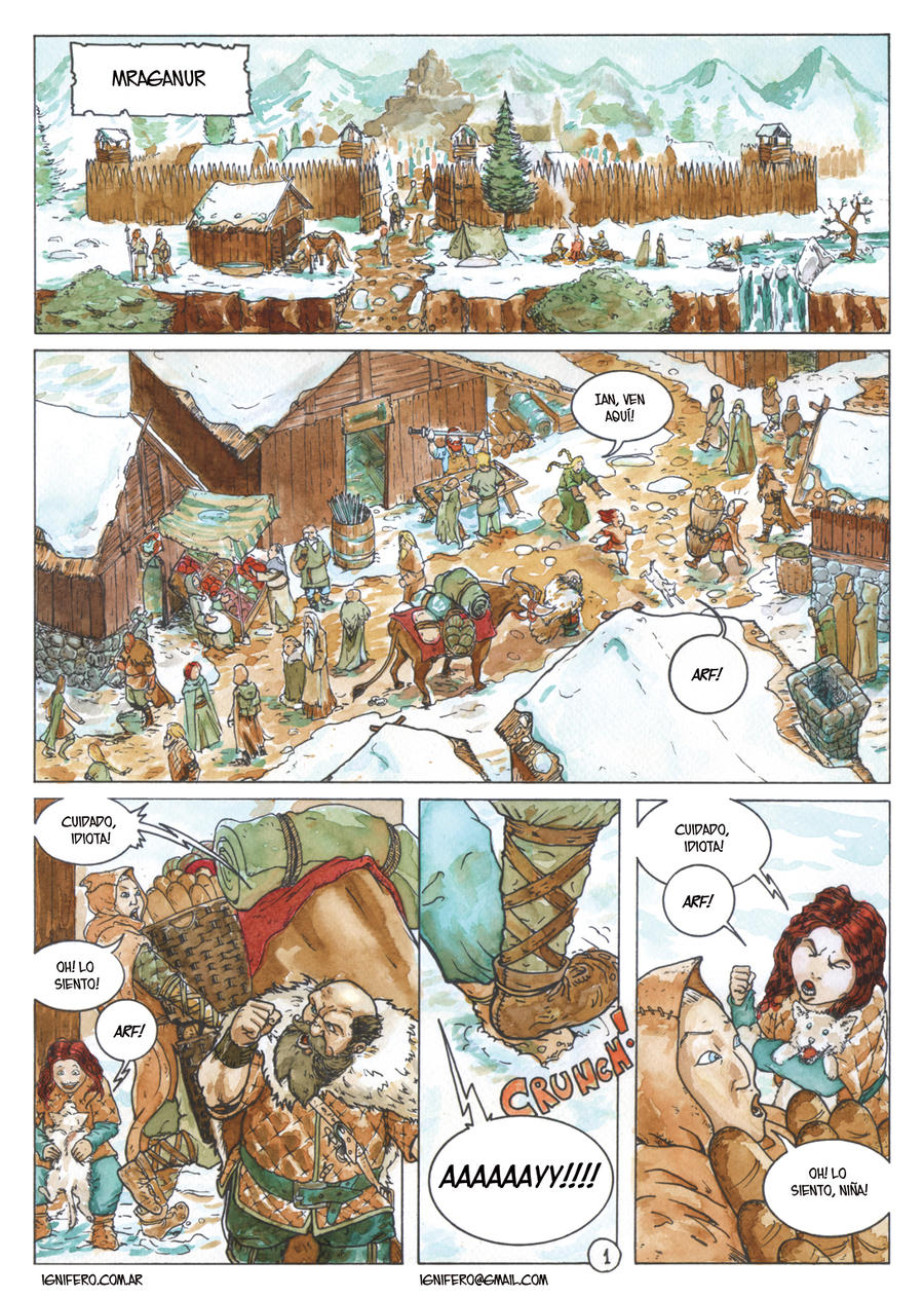 Color samples - page 1 by Ignifero