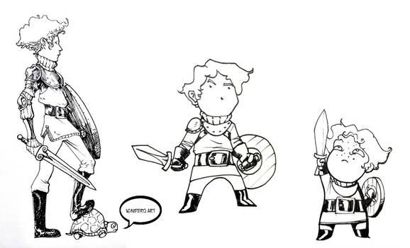 Patrick doodling styles