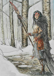 the witch in the woods