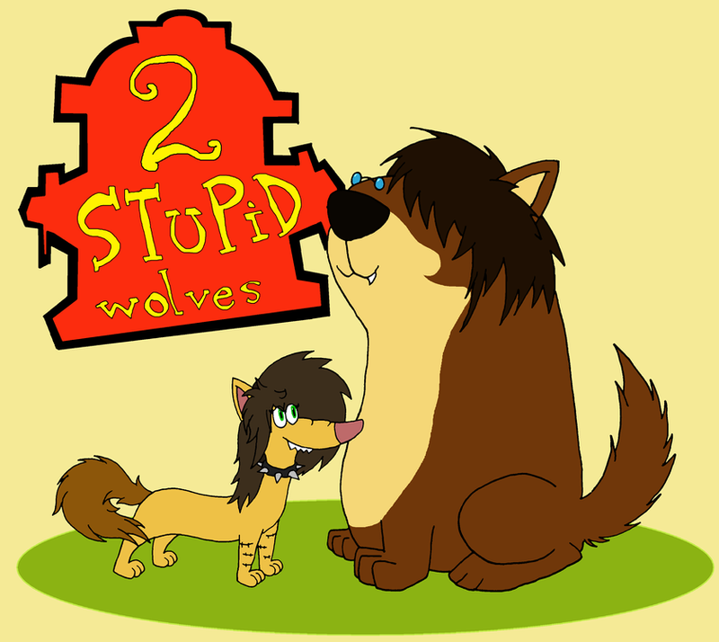 2 Stupid Wolves by ValeTheHowl