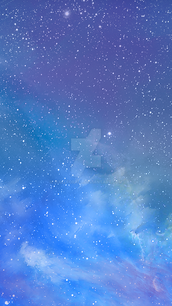 Ios 7 Galaxy Wallpaper By WallforAll On DeviantArt
