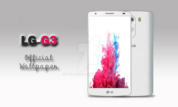 LG G3 Official wallpaper