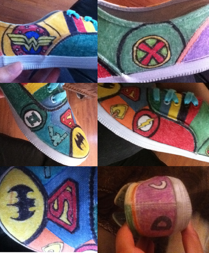 Look at the Shoes I Made! Part 2 by Iwillbethenextrobin
