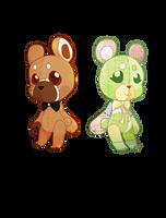 [ Fanart ] Two Teddy by foxillefox